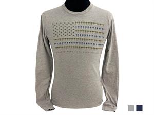 T-Shirt: LS Wine Flag