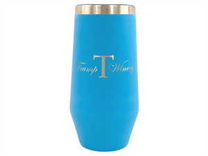 9oz Insulated Flute Turquoise