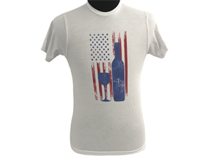 T-Shirt: Vintage Flag