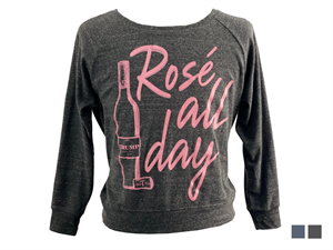 Rosé All Day Pullover